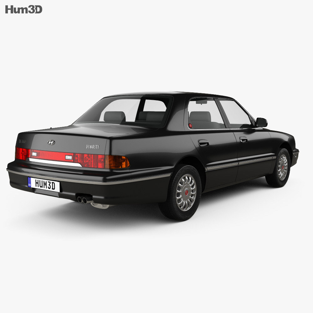 Hyundai Dynasty 1999 3d model