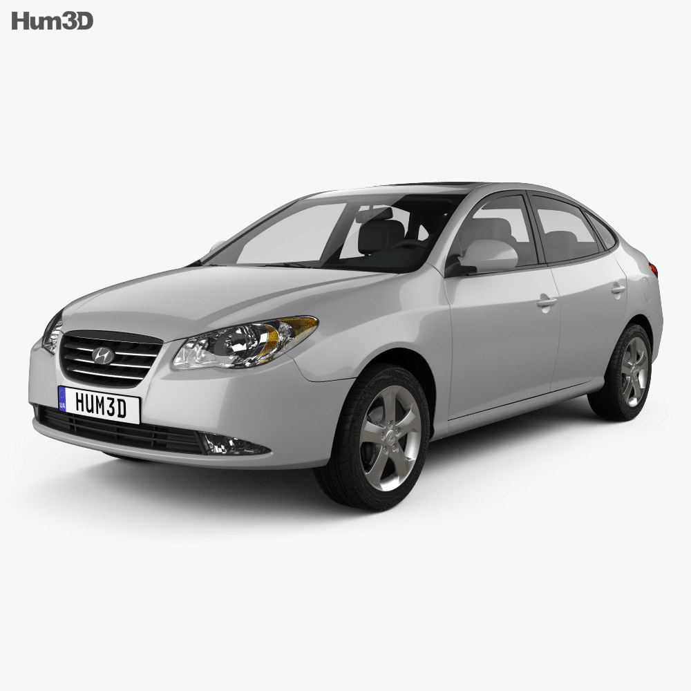 Hyundai Elantra (HD) 2007 3d model