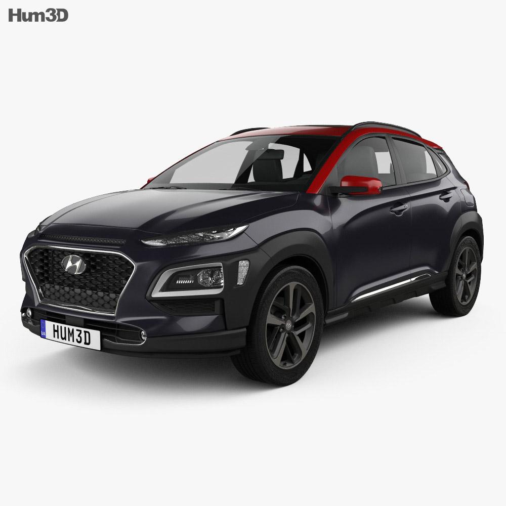 Hyundai Encino 2018 3d model