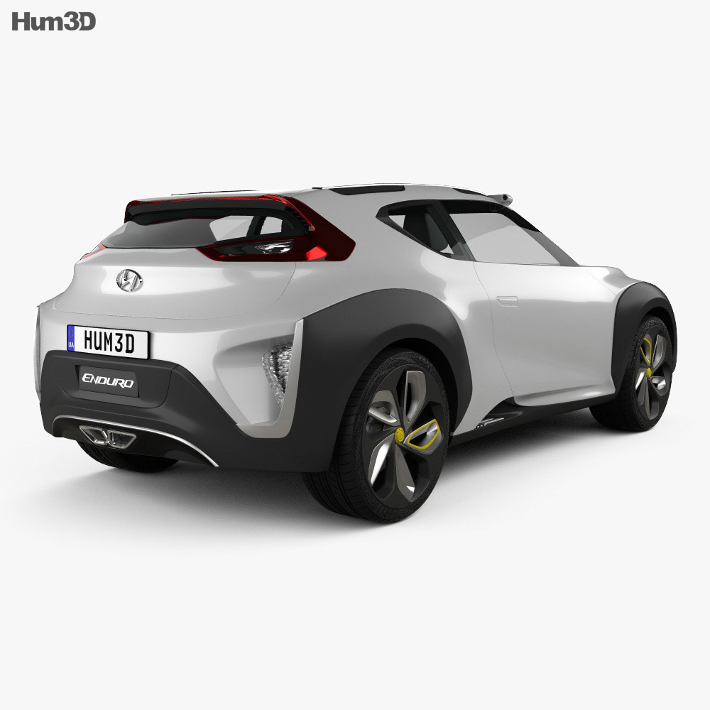 Hyundai Enduro 2015 3d model