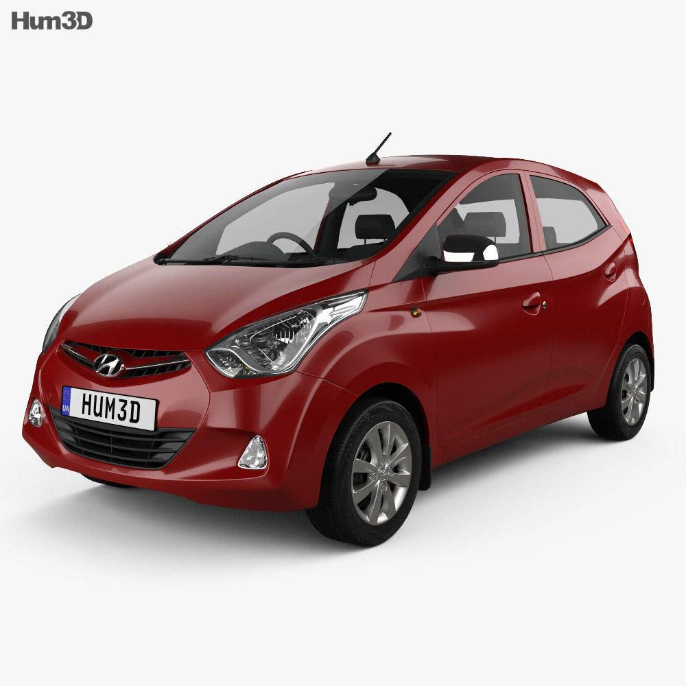 Hyundai Eon 2011 3d model