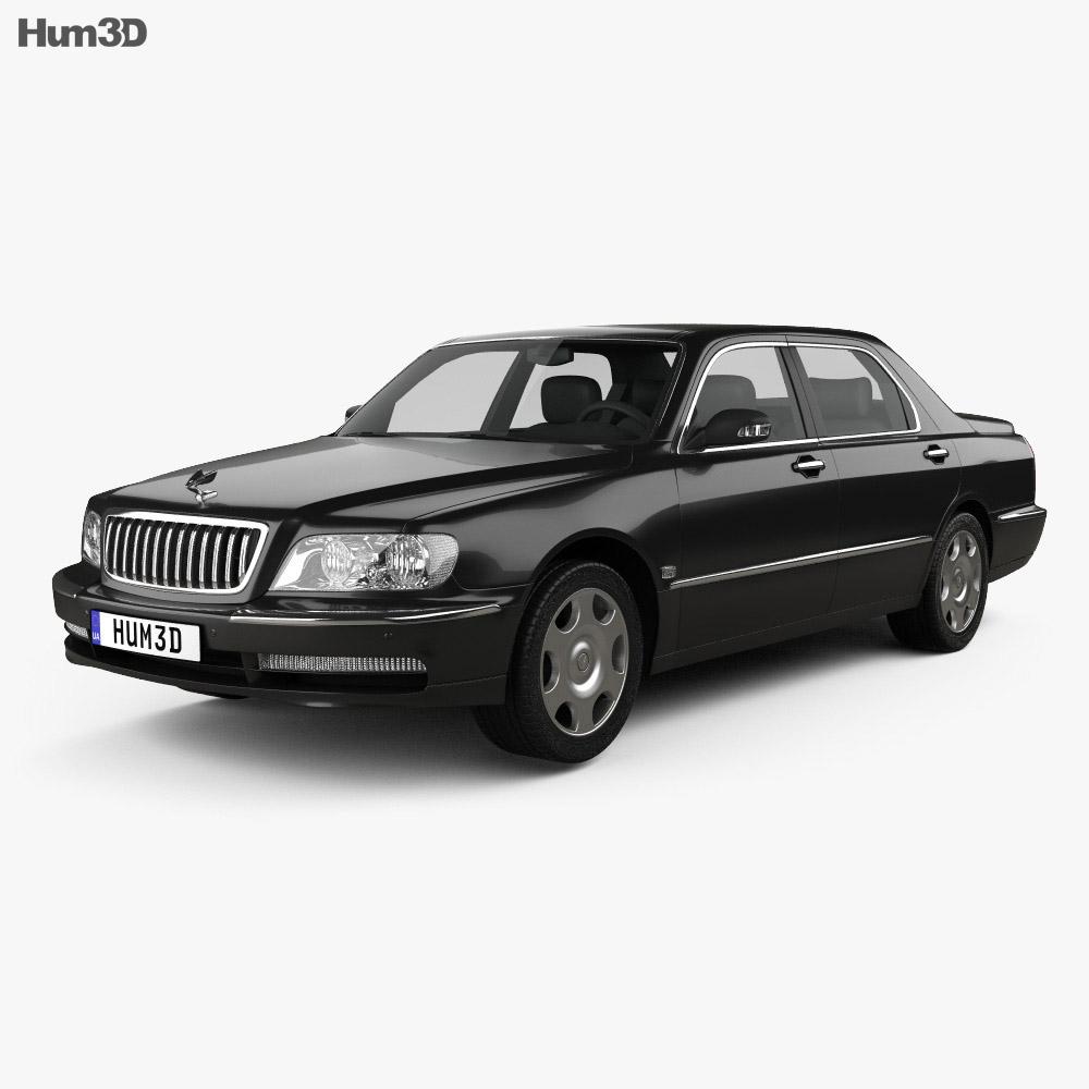 Hyundai Equus 1999 3d model