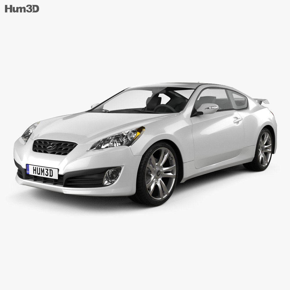 Hyundai Genesis Coupe 2011 3d model