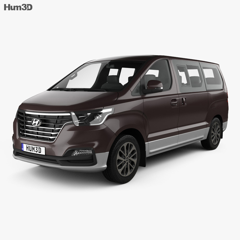 Hyundai Grand Starex 2018 3d model