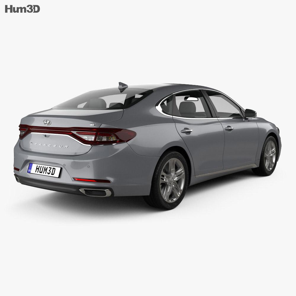 Hyundai Grandeur (IG) 2017 3d model