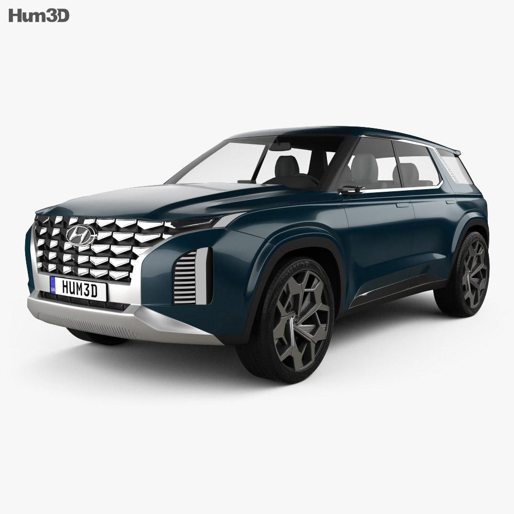 Hyundai HDC-2 Grandmaster SUV 2018 3d model