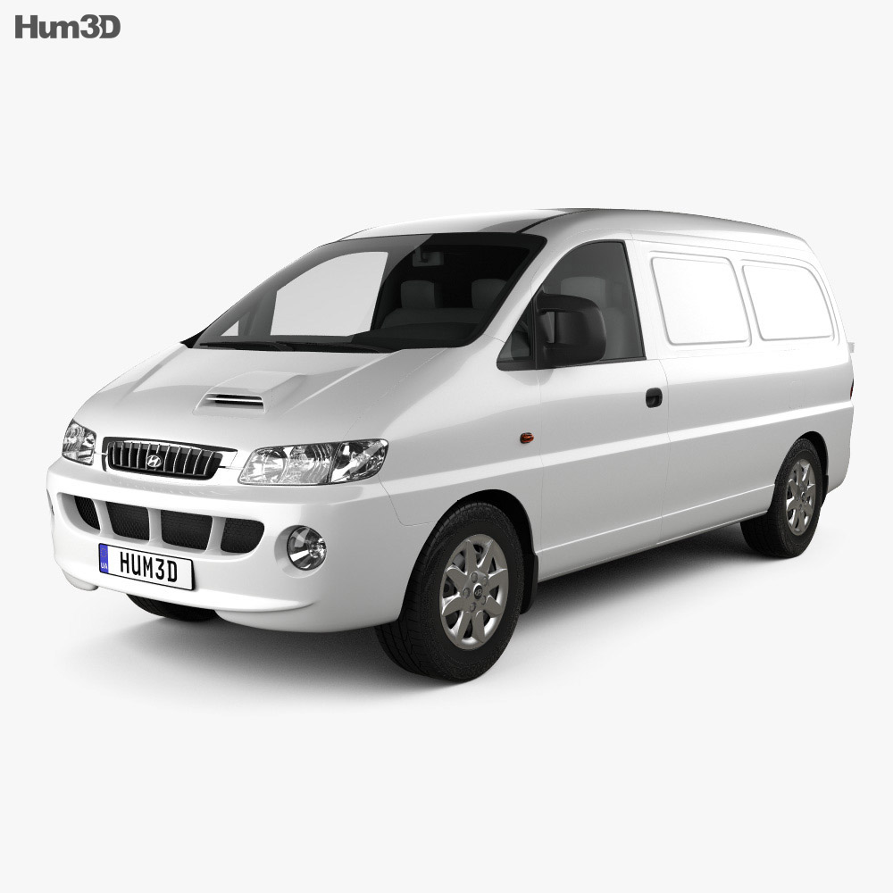 Hyundai H-1 Panel Van 1997 3d model