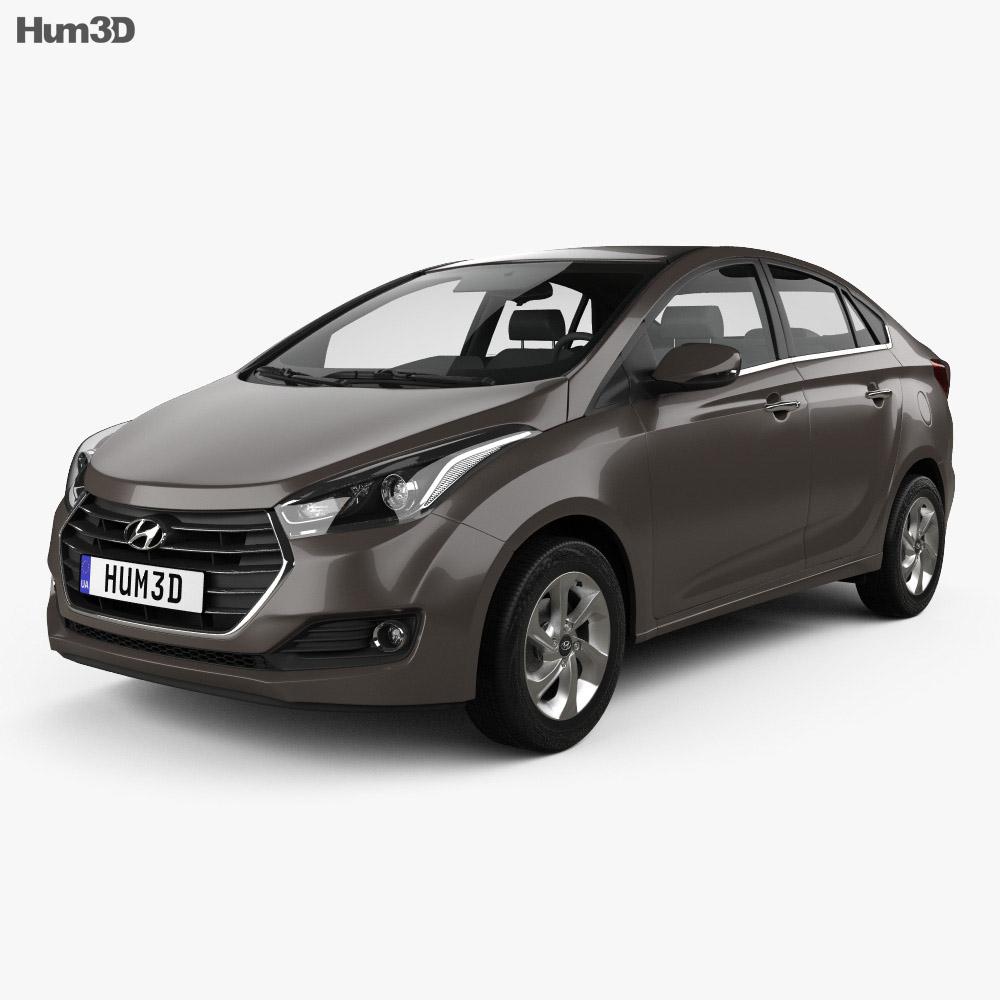 Hyundai HB20S 2015 3d model