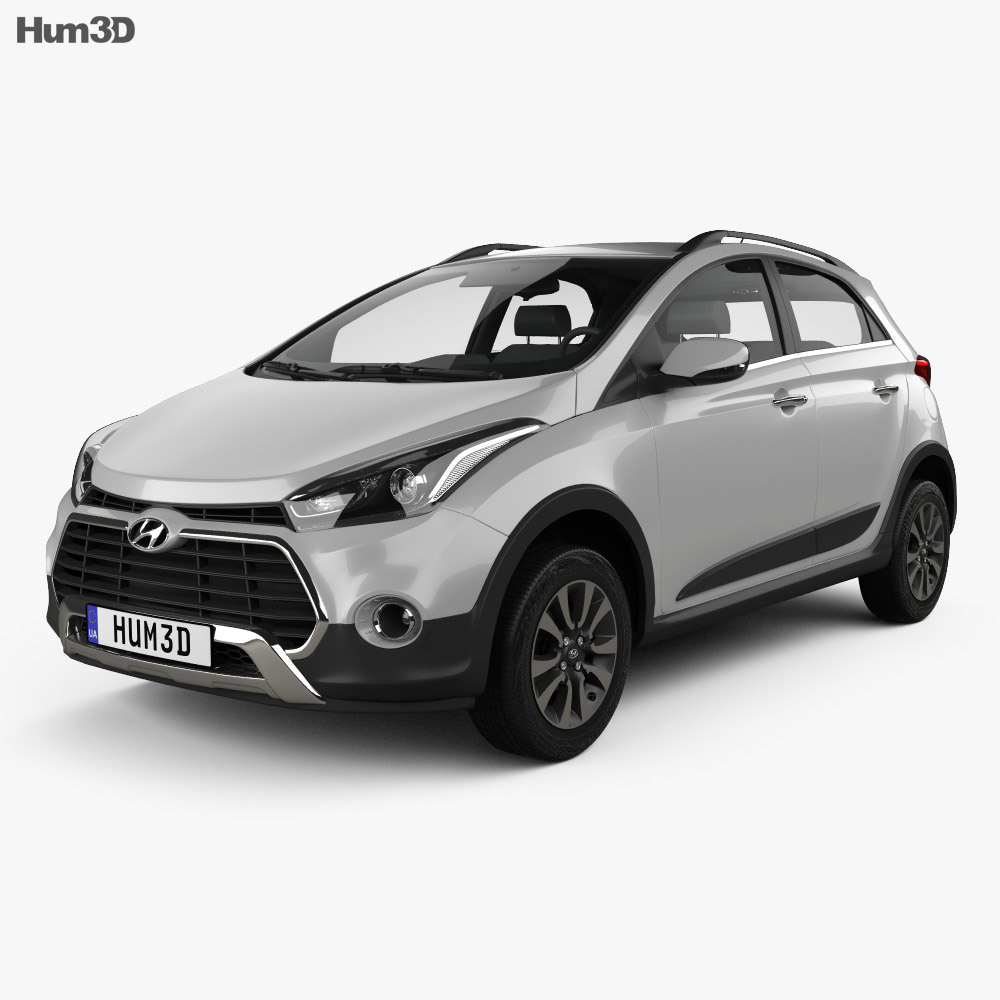 Hyundai HB20X 2015 3d car model