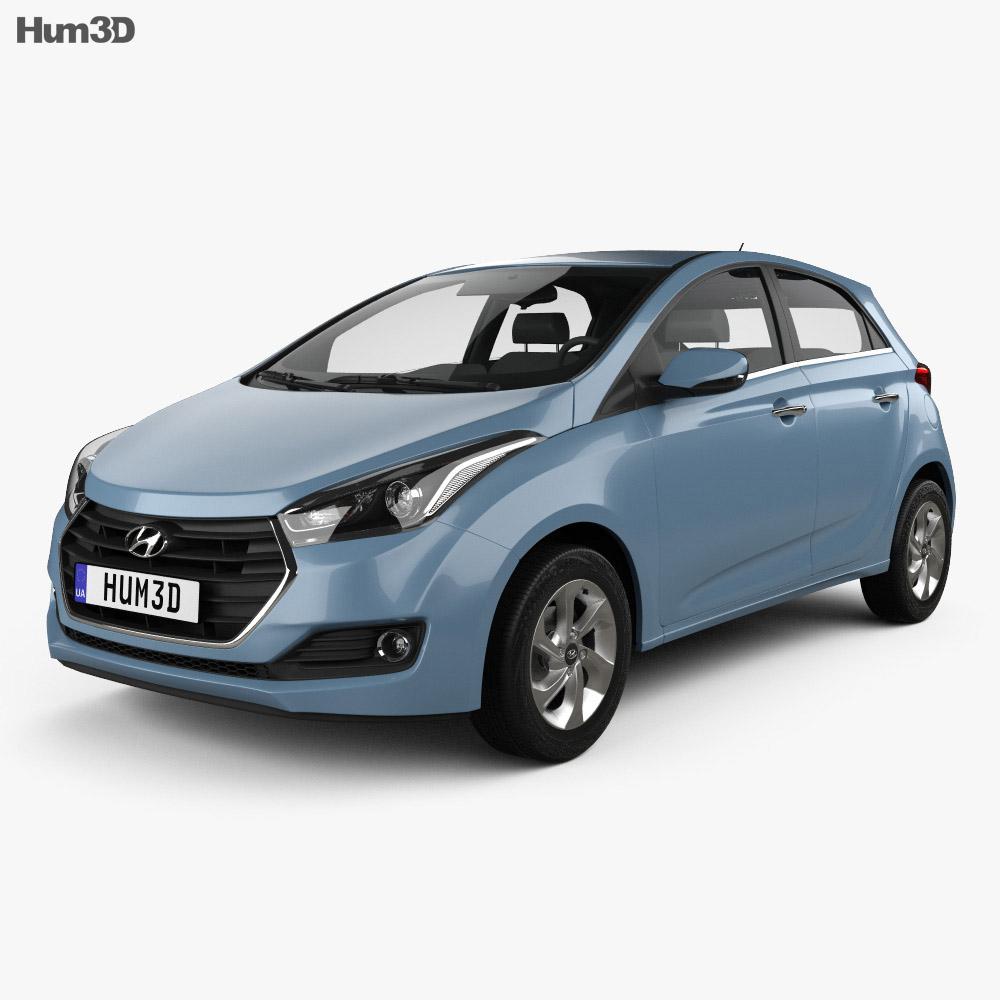 Hyundai HB20 2015 3d model