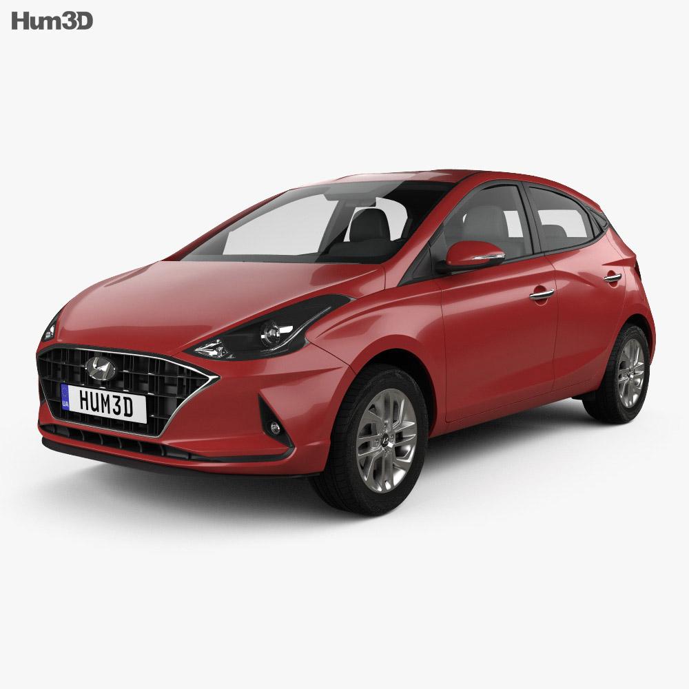 Hyundai HB20 2019 3d model