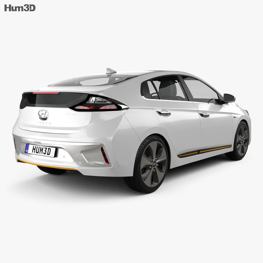 Hyundai Ioniq Electric 2016 3d model
