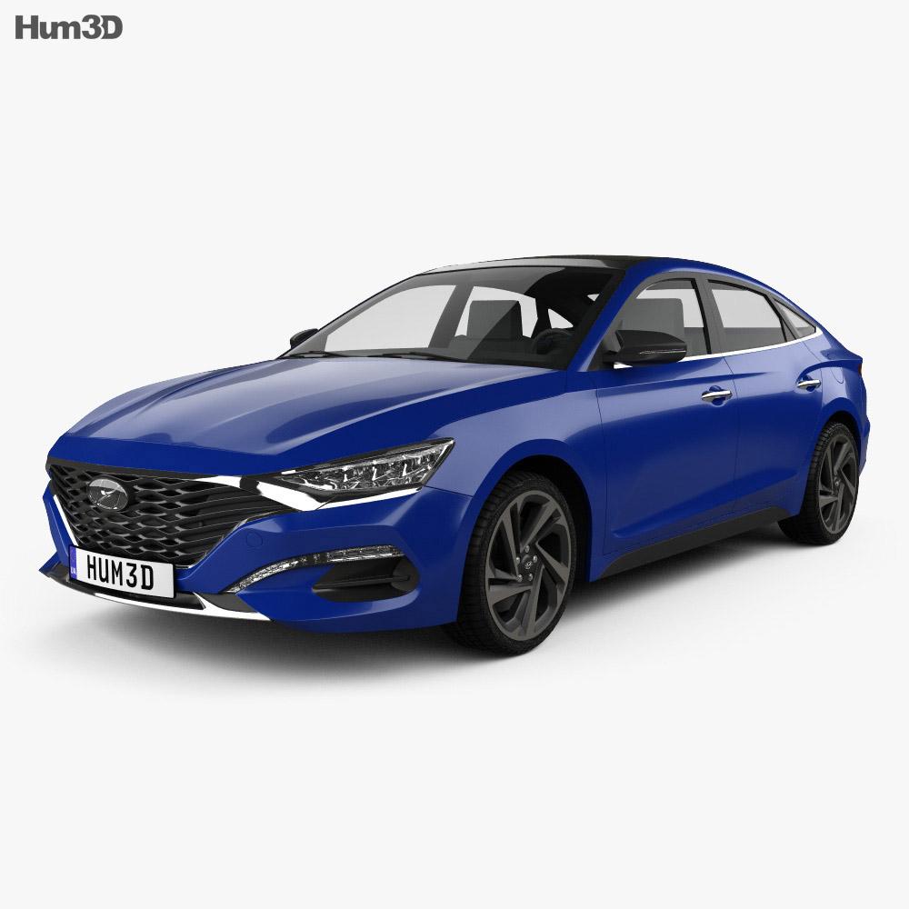 Hyundai Lafesta 2018 3d model