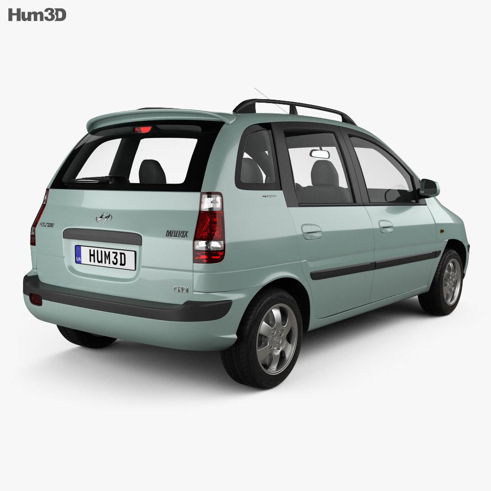 Hyundai Matrix (Lavita) 2001 3d model