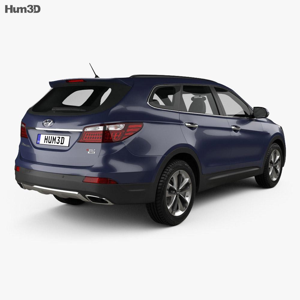 Hyundai Maxcruz 2014 3d model