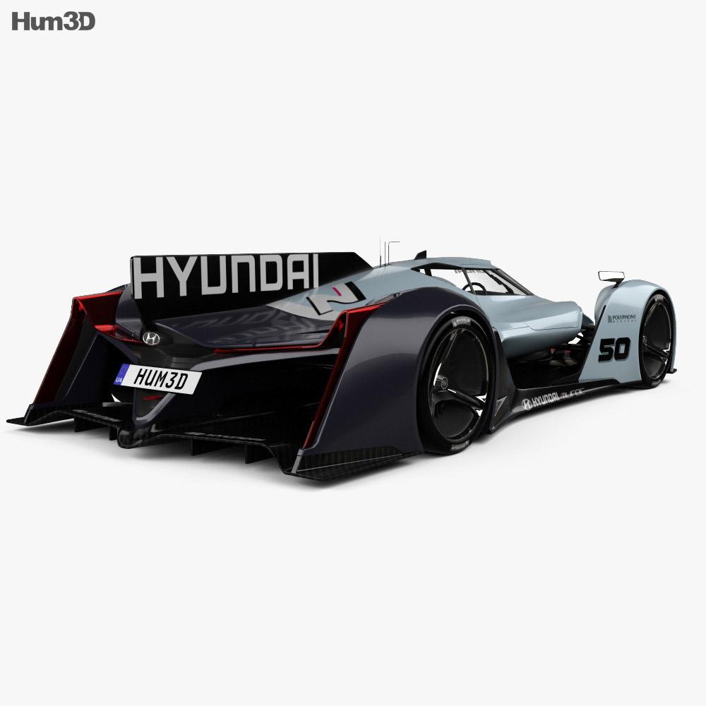 Hyundai N 2025 Vision Gran Turismo 3d model