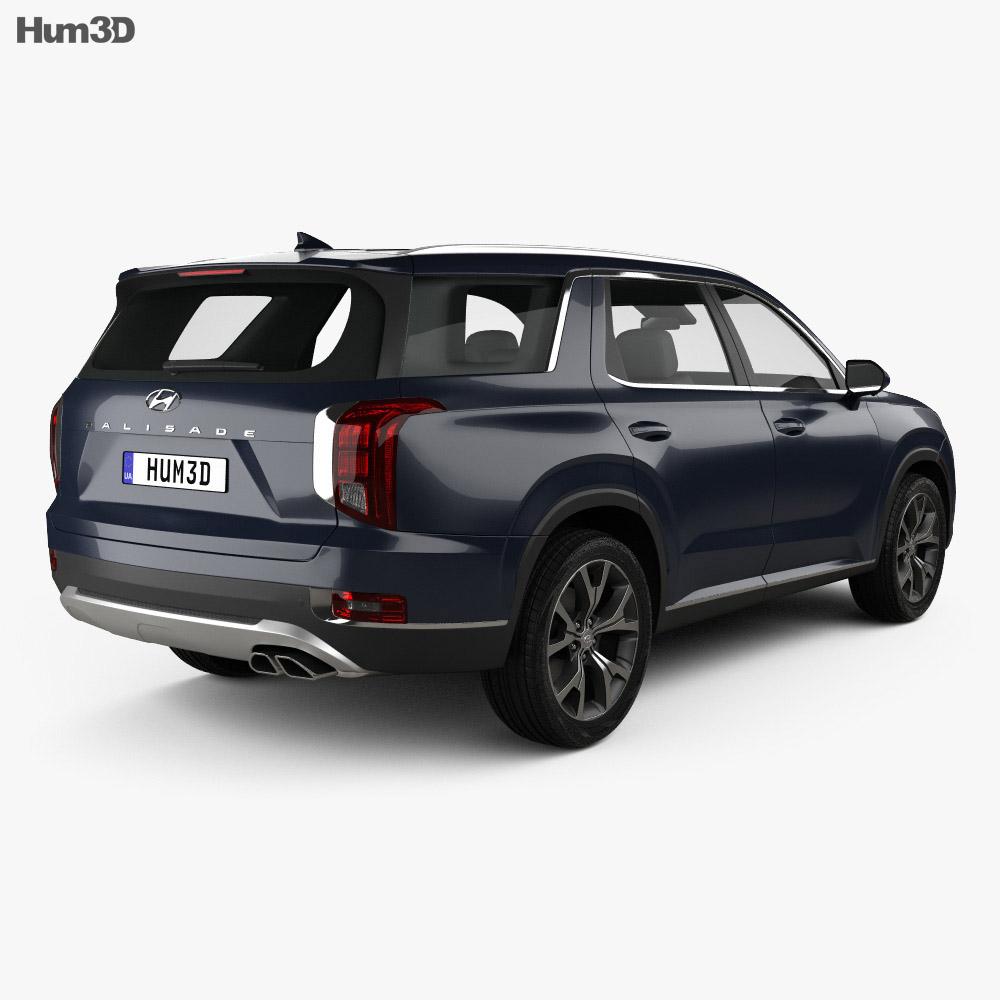 Hyundai Palisade 2020 3d model