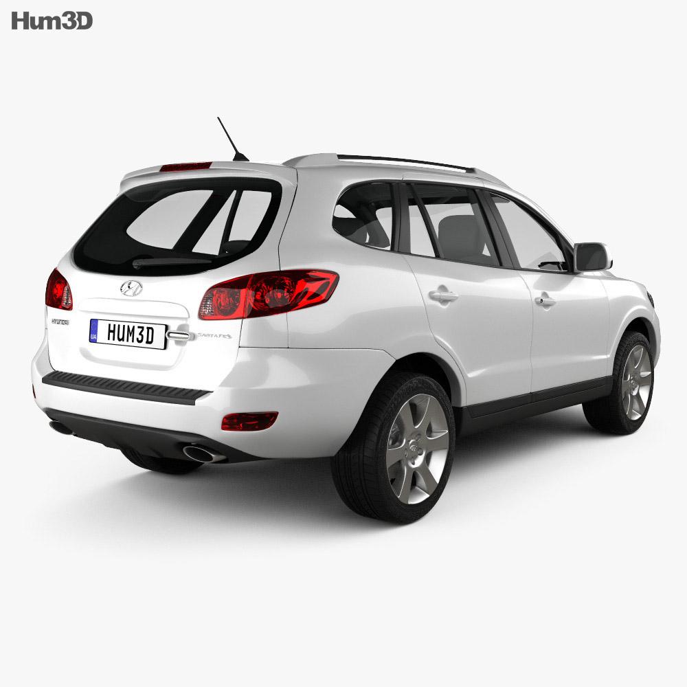Hyundai Santa Fe 2007 3d model