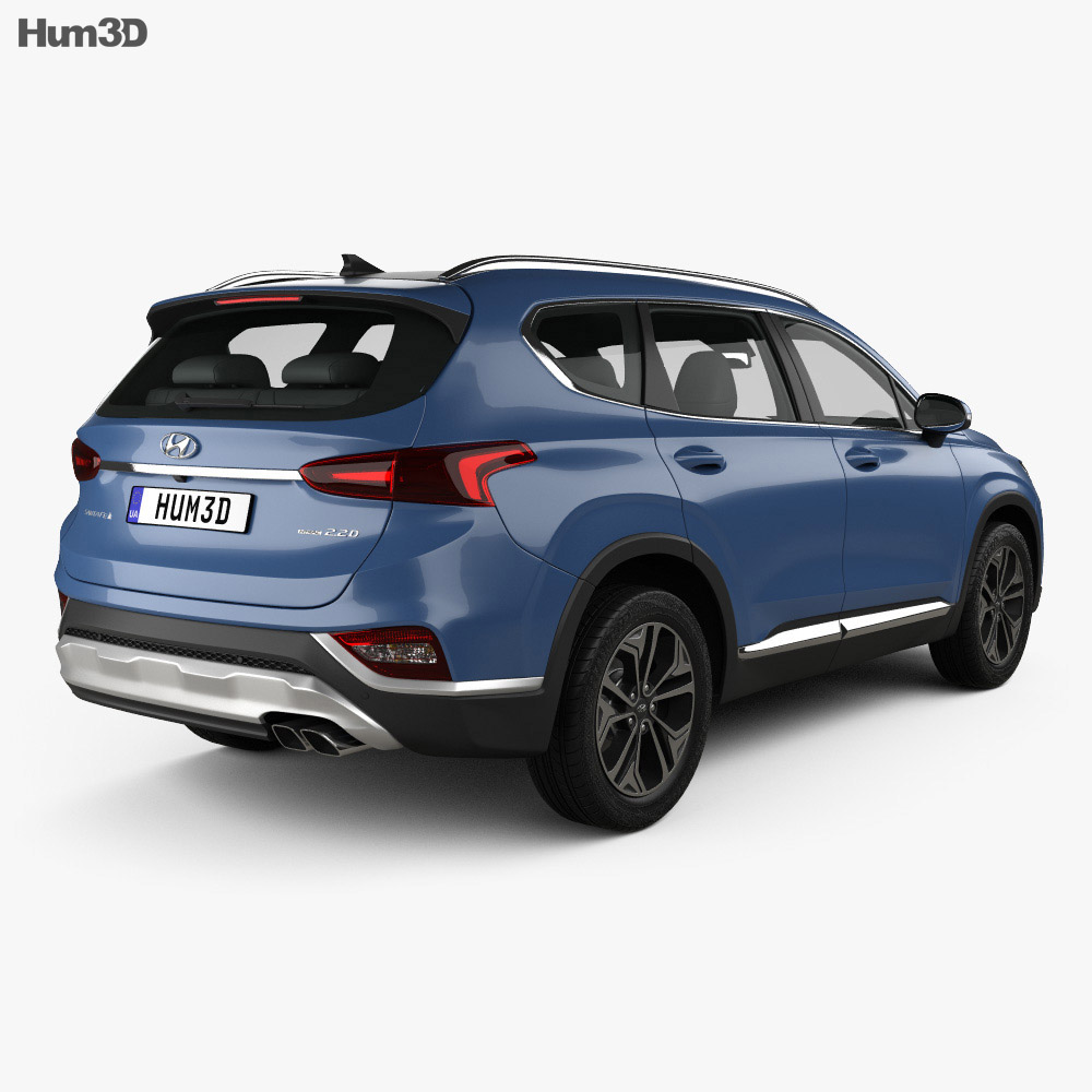 Hyundai Santa Fe (TM) 2019 3d model