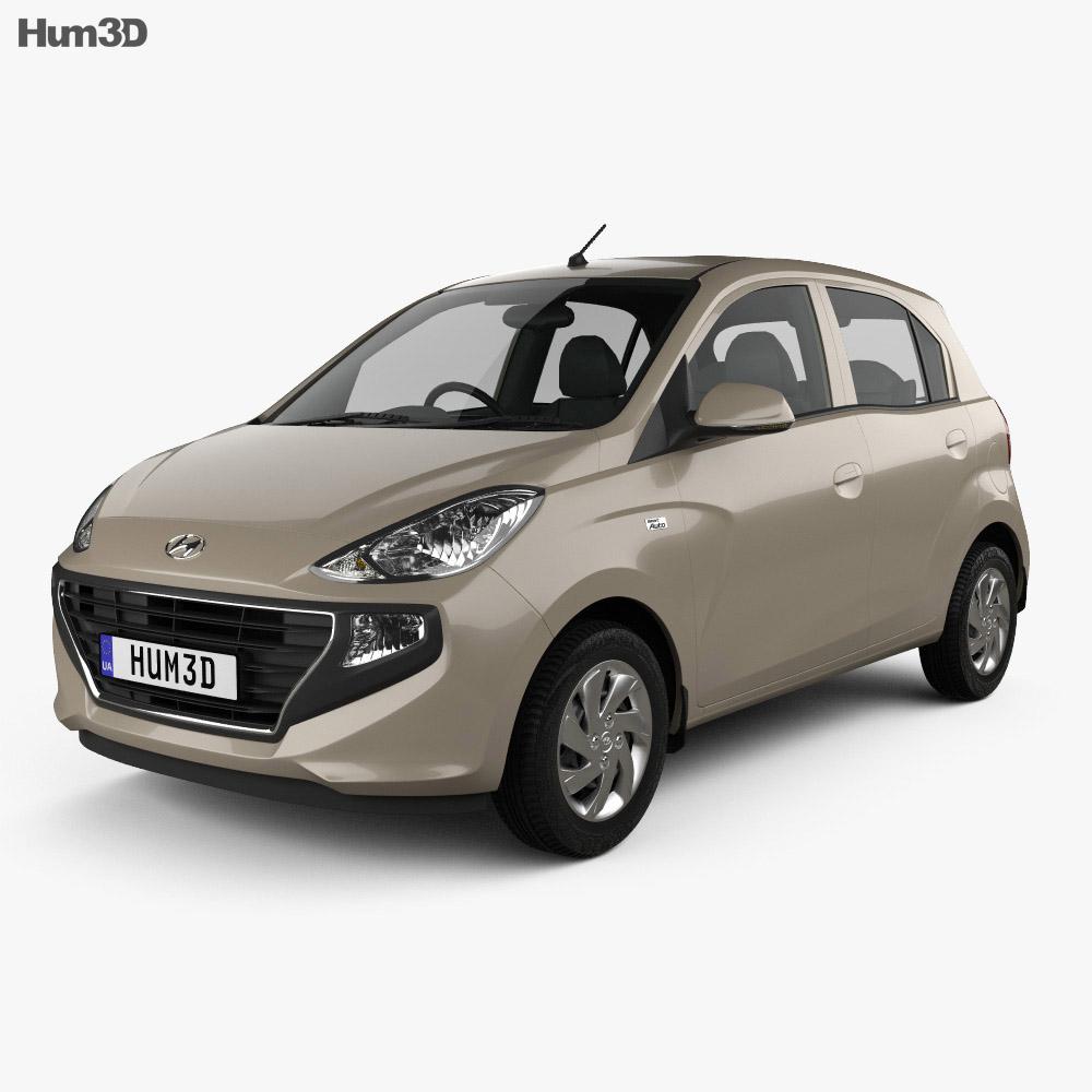Hyundai Santro Asta 2018 3d model