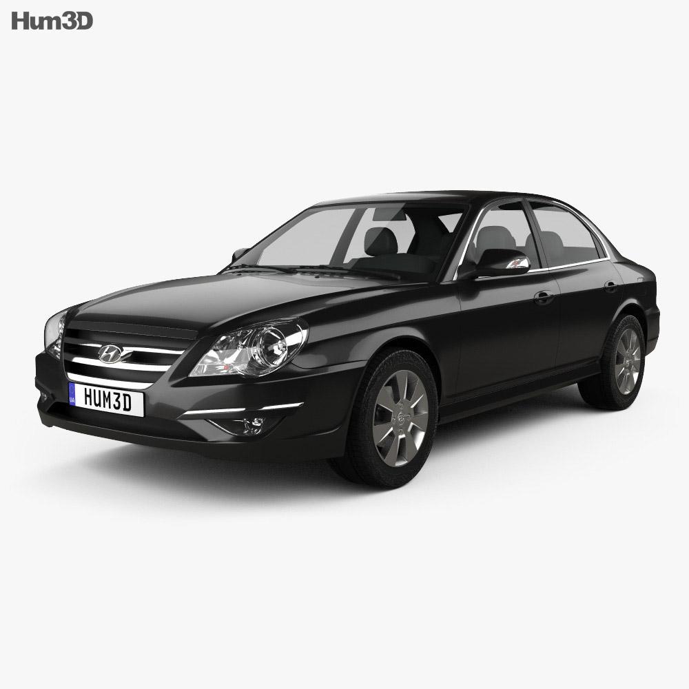 Hyundai Sonata Moinca (CN) 2009 3d model