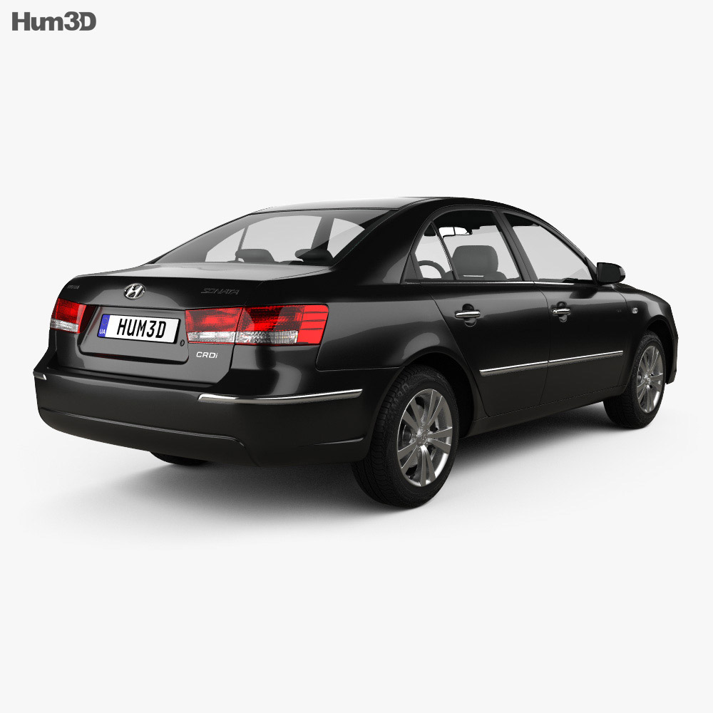 Hyundai Sonata (NF) 2008 3d model