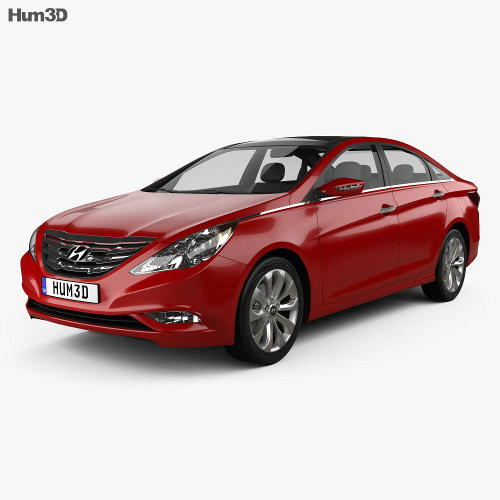Hyundai Sonata (i45) 2012 3d model