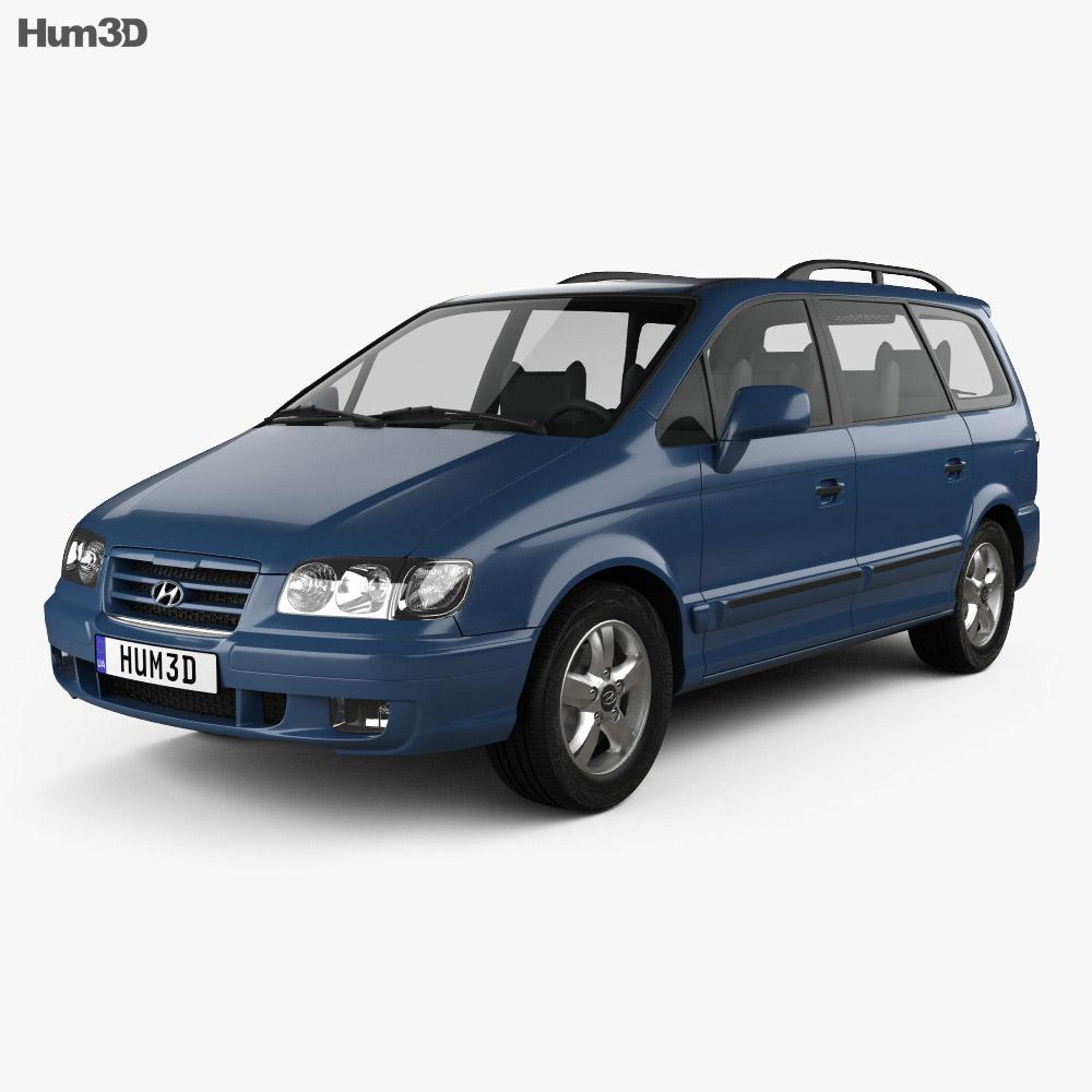 Hyundai Trajet 2004 3d model