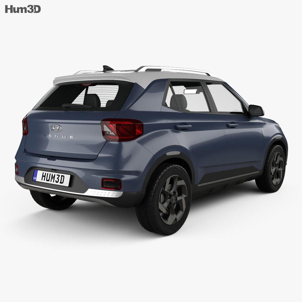 Hyundai Venue 2020 3d model
