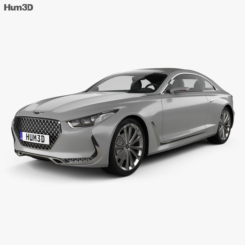 Hyundai Vision G 2015 3d model