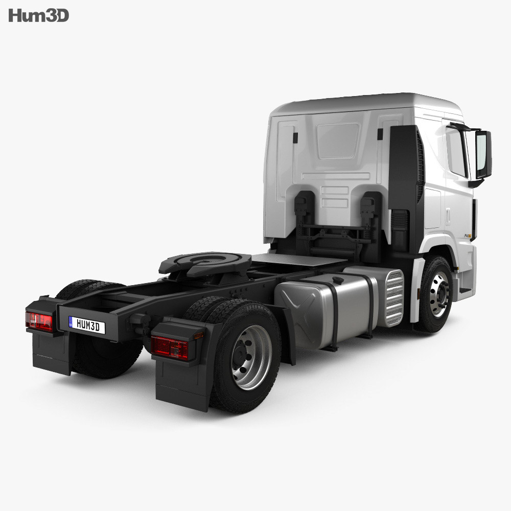 Hyundai Xcient P410 Tractor Truck 2013 3d model