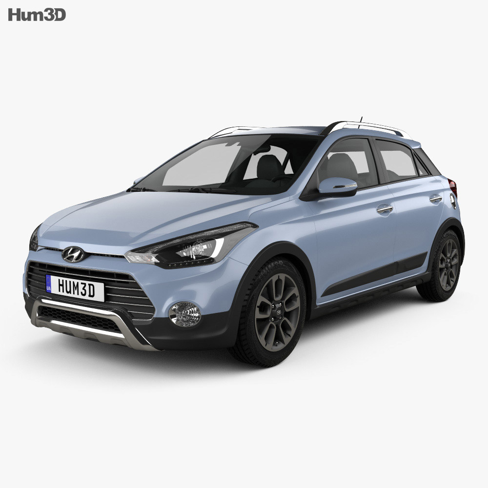Hyundai i20 Active 2015 3d model