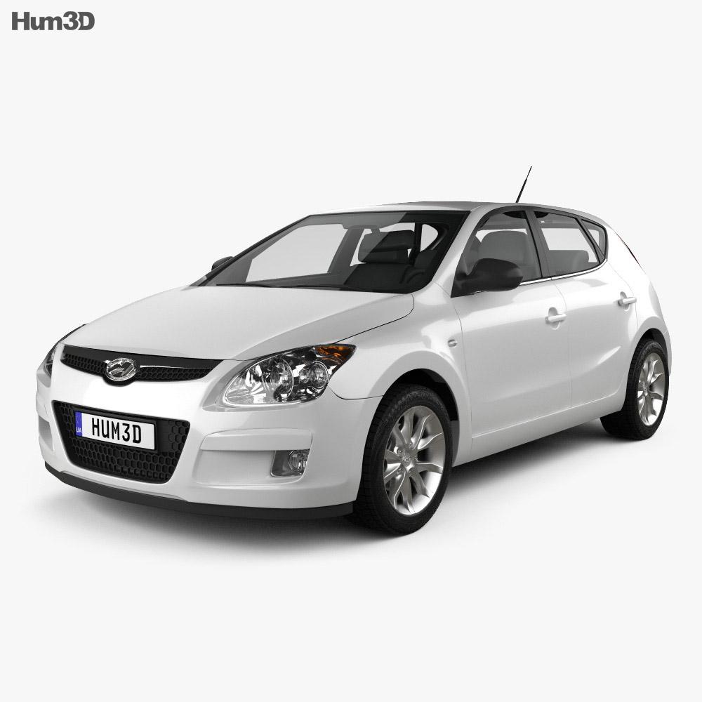 Hyundai i30 2010 3d model