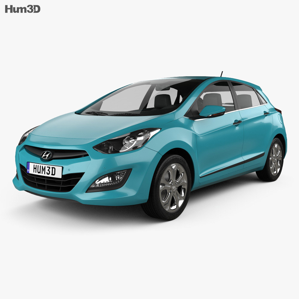 Hyundai i30 5-door hatchback (EU) 2013 3d model