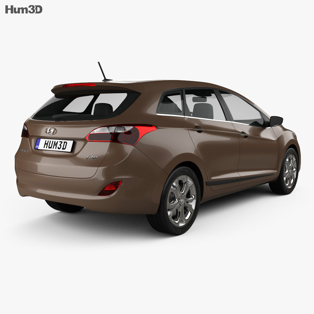 Hyundai i30 5-door wagon (EU) 2013 3d model