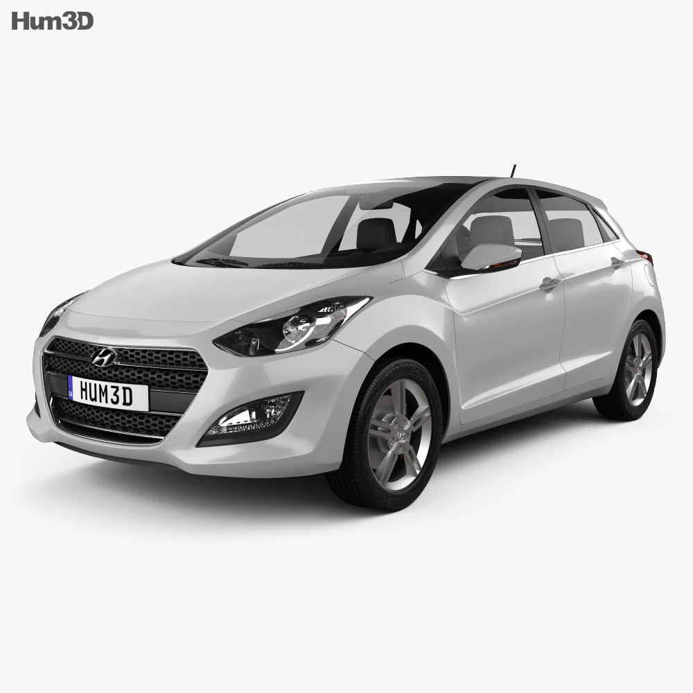 Hyundai i30 5-door 2015 3d model