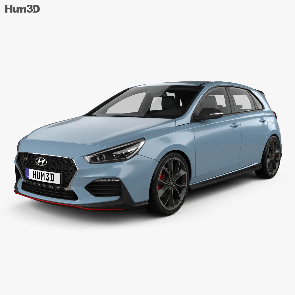 Hyundai i30 N hatchback 2017 3d model