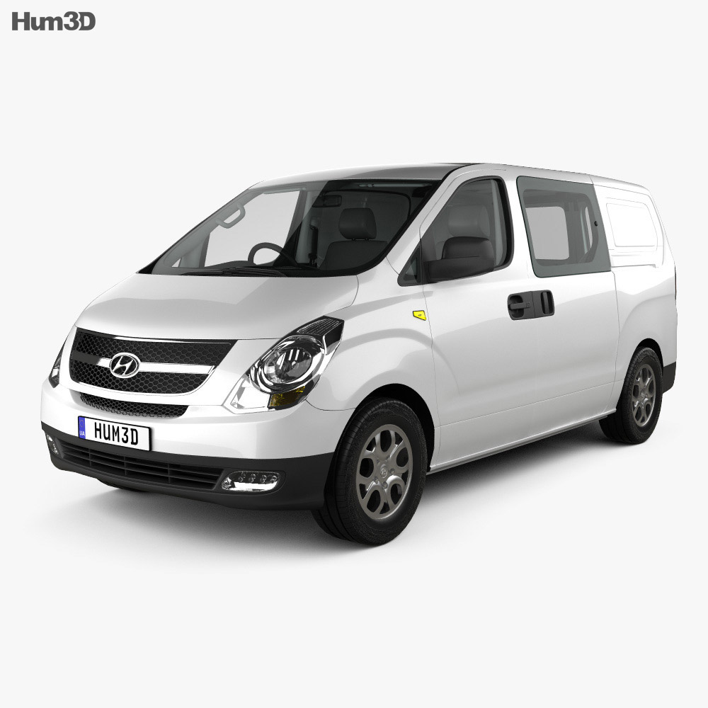 Hyundai iLoad with HQ interior 2010 3d model