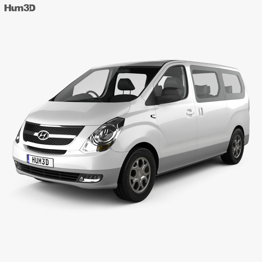 Hyundai Starex (iMax) 2010 3d model