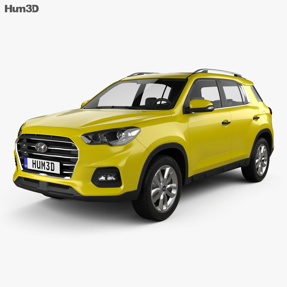 Hyundai ix35 CN-spec 2018 3d model