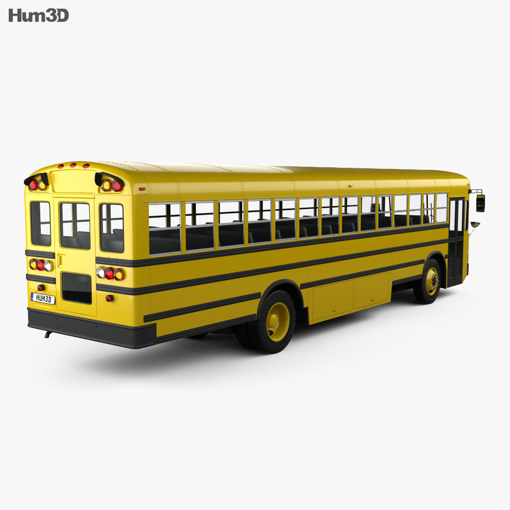 IC FE School Bus 2006 3d model