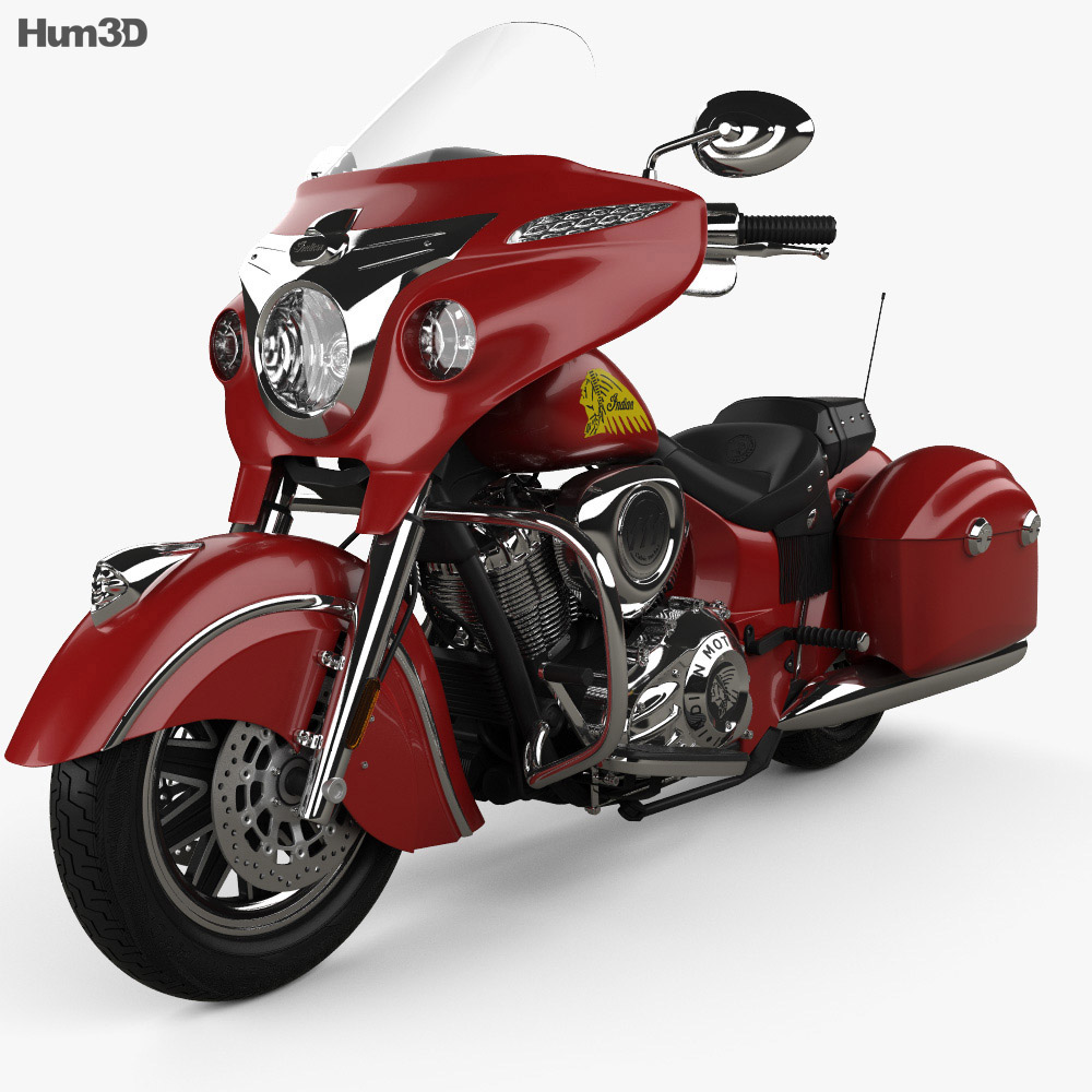 Indian Chieftain 2015 3d model