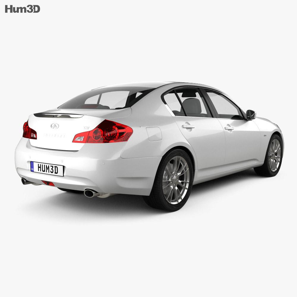 Infiniti G37 Sedan 2011 3d model