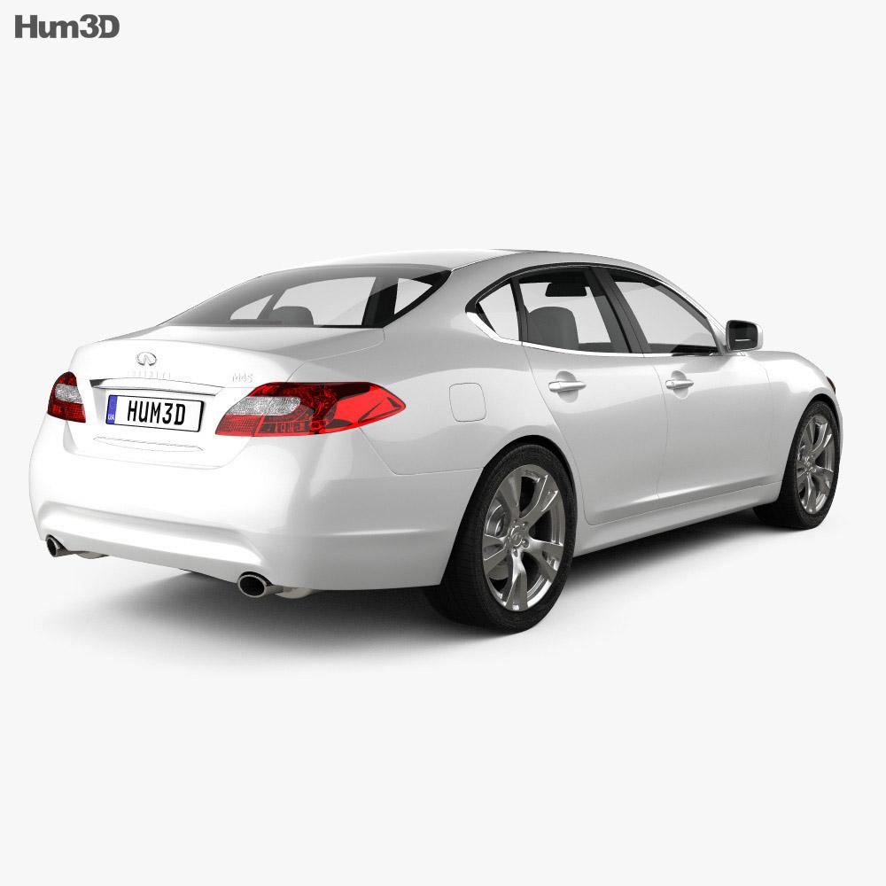 Infiniti M 2011 3d model