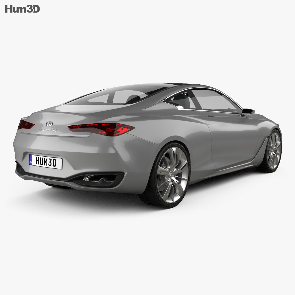 Infiniti Q60 Concept 2014 3d model