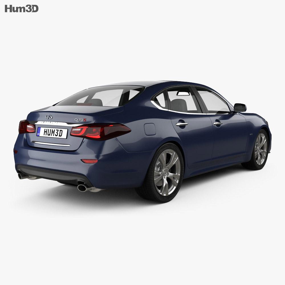 Infiniti Q70 S 2015 3d model