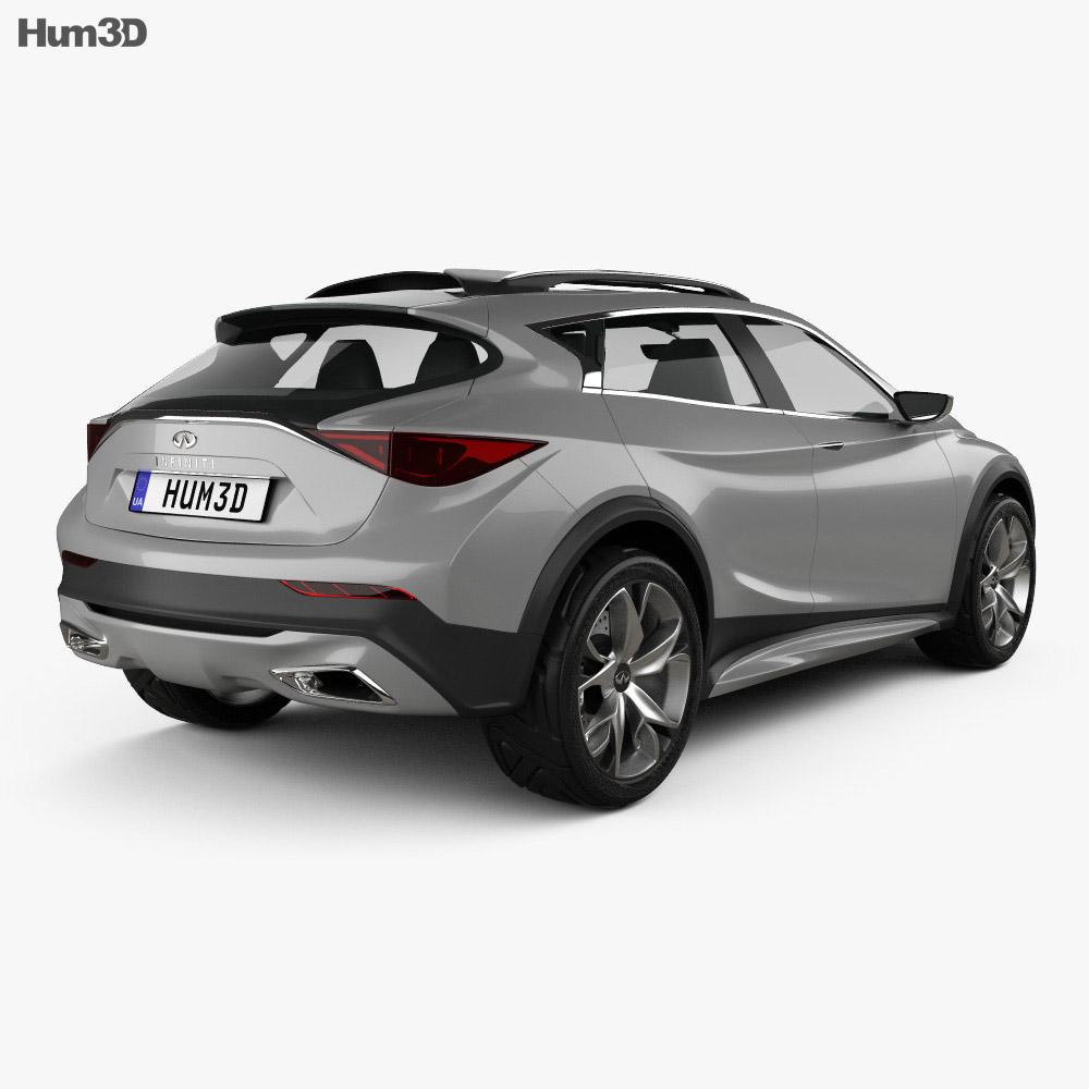 Infiniti QX30 Concept 2015 3d model