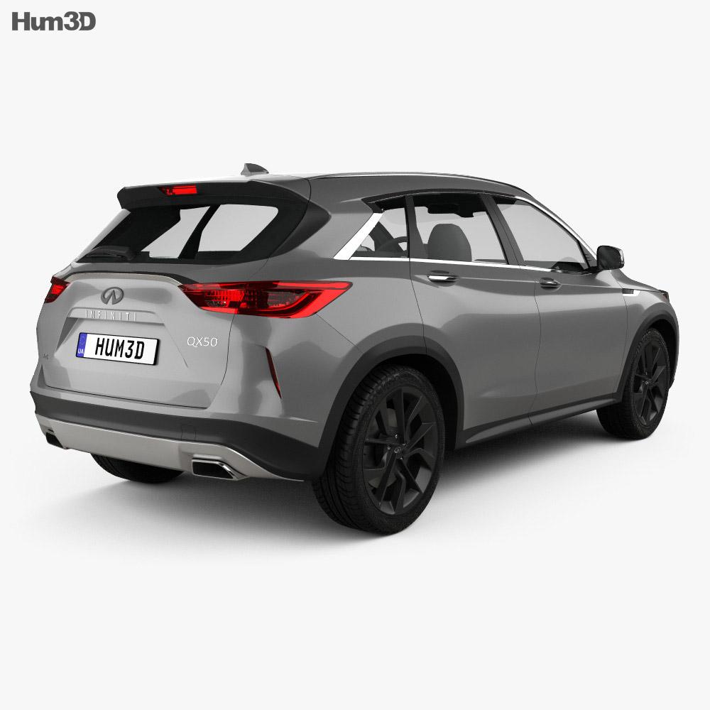 Infiniti QX50 2019 3d model