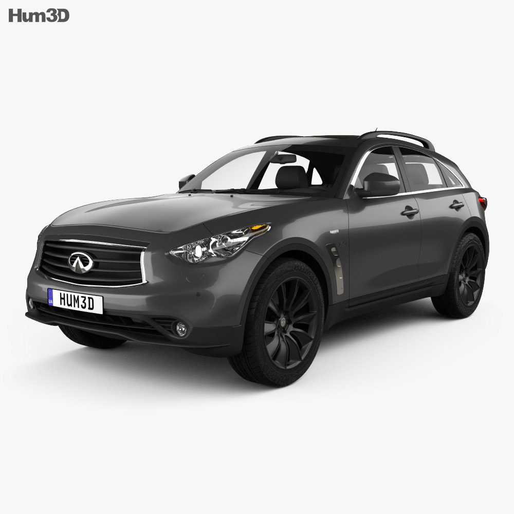 Infiniti QX70 S Ultimate 2015 3d model