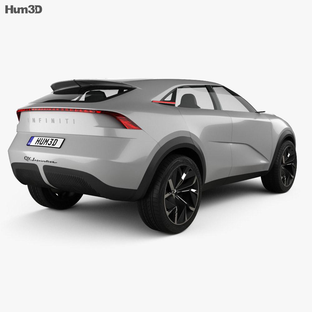 Infiniti QX Inspiration 2019 3d model